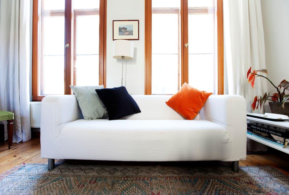 Kitchen/living room floor