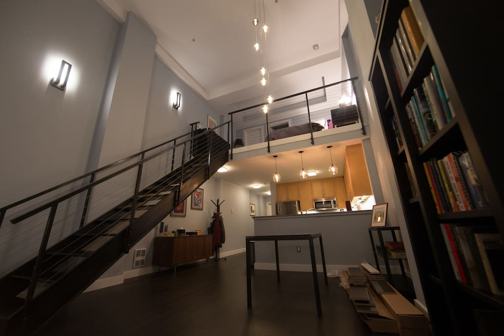 Loft apartment overview