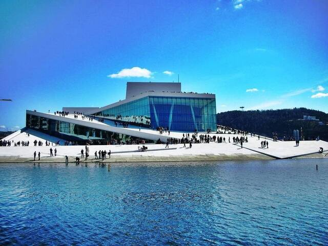 Next to the Opera, Sea view, Close to the Central. - Oslo - Condomínio