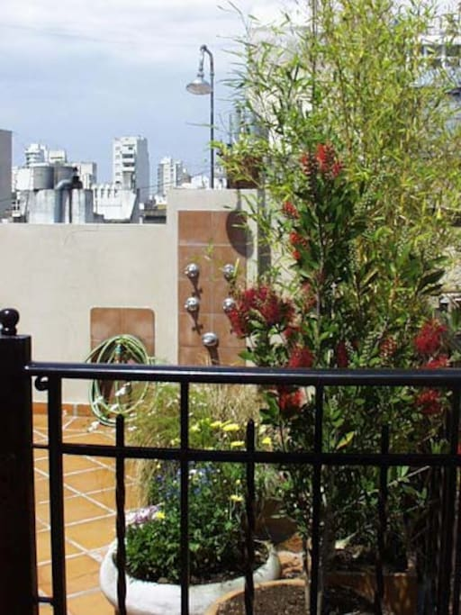 Ap with private terrace santelmo lofts for rent in for Ap lofts