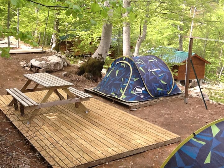 Camping au Col de Vizzavona