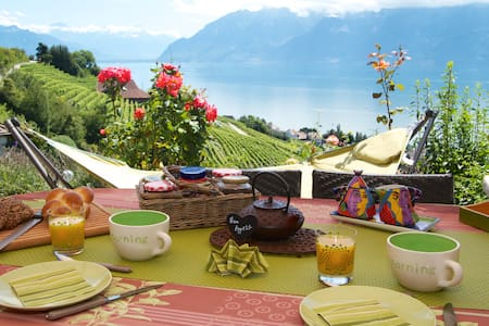 Bambou Room right in the Lavaux ! - Grandvaux