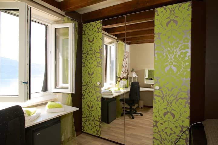 Co-location chambre Bambou avec sdb
