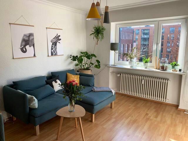 Gemütliche&ruhige Wohnung im Großstadtdschungel