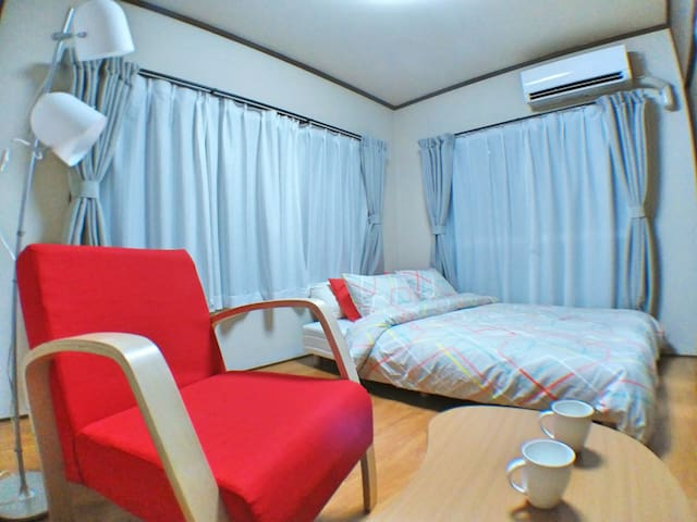 7min FUSSA Clean room +Mobile WiFi - Fussa-shi - Daire