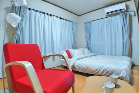 7min FUSSA Clean room +Mobile WiFi - Fussa-shi - Apartament