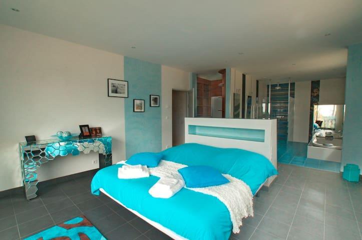Suite***** couple, piscine/jacuzzi - Sarlat-la-Canéda - Villa
