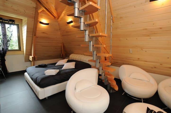 Suite 3pers, piscine/spa/sauna - Sarlat-la-Canéda - วิลล่า