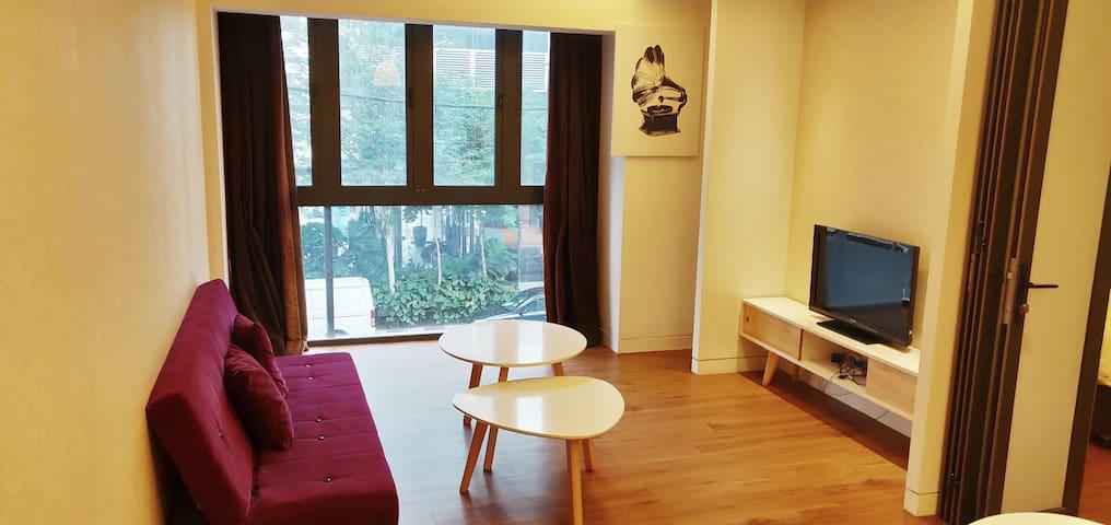 Cosy 1 bedroom apartment in KL. 5min MRT jln alor
