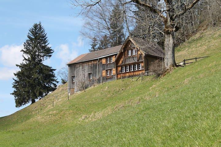 """Ferienhaus Osteregg """"Chrüsi"""" - Urnäsch - House"""