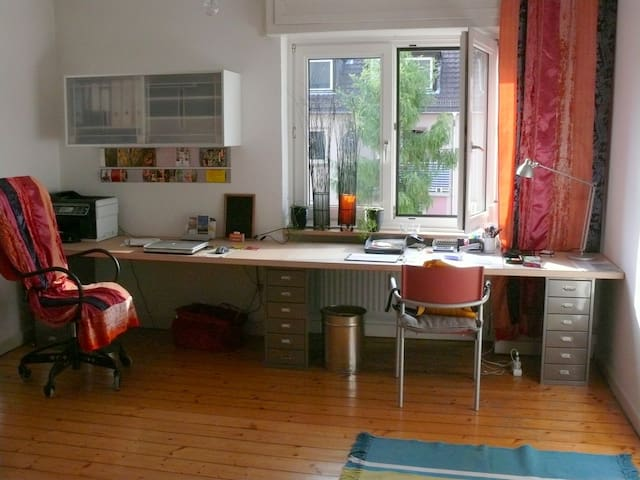 2-room-flat in center of Darmstadt