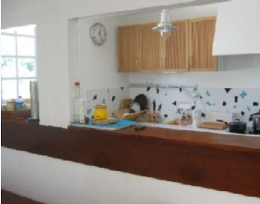 cuisine bar ouverte sur le salon