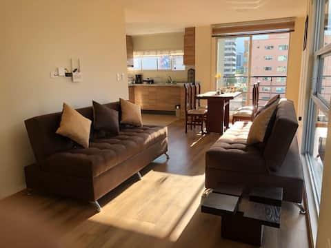 市中心舒适的豪华公寓