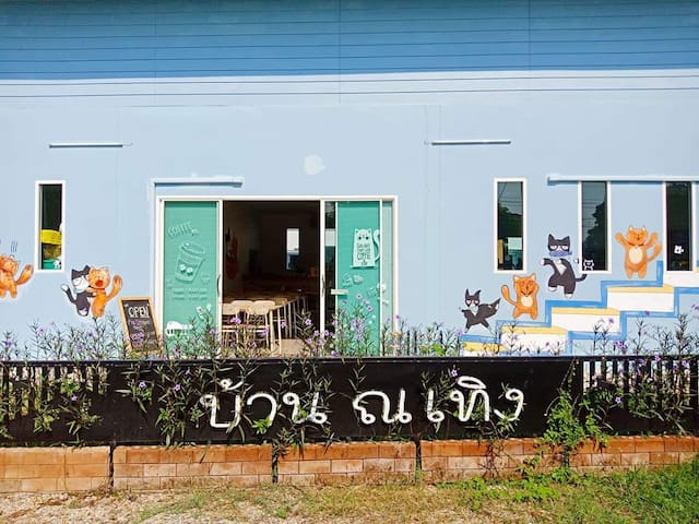 Baan Na Thoeng (cat lover house)
