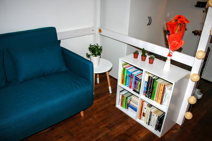 Cosy and cute studio 16m2 in the center of Paris