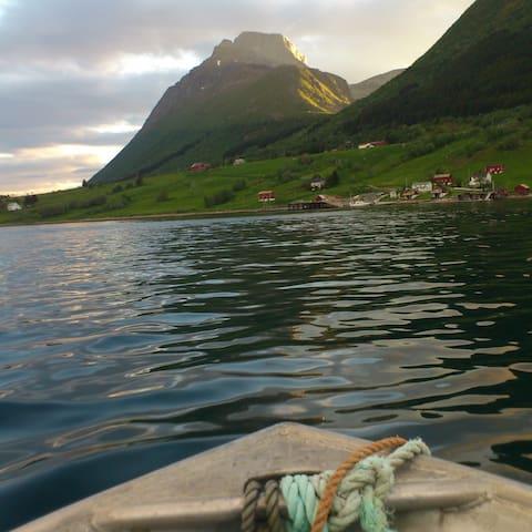 Aldra, Lurøy . Helgelandskysten