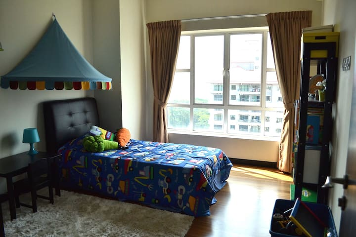 Colorful and comfortable child's room