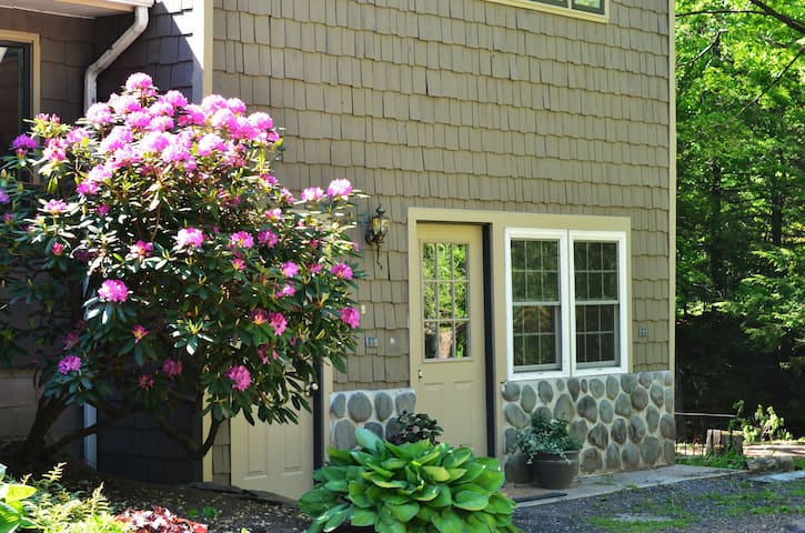 Lovely Creekside apt near Woodstock - Saugerties - Apartamento