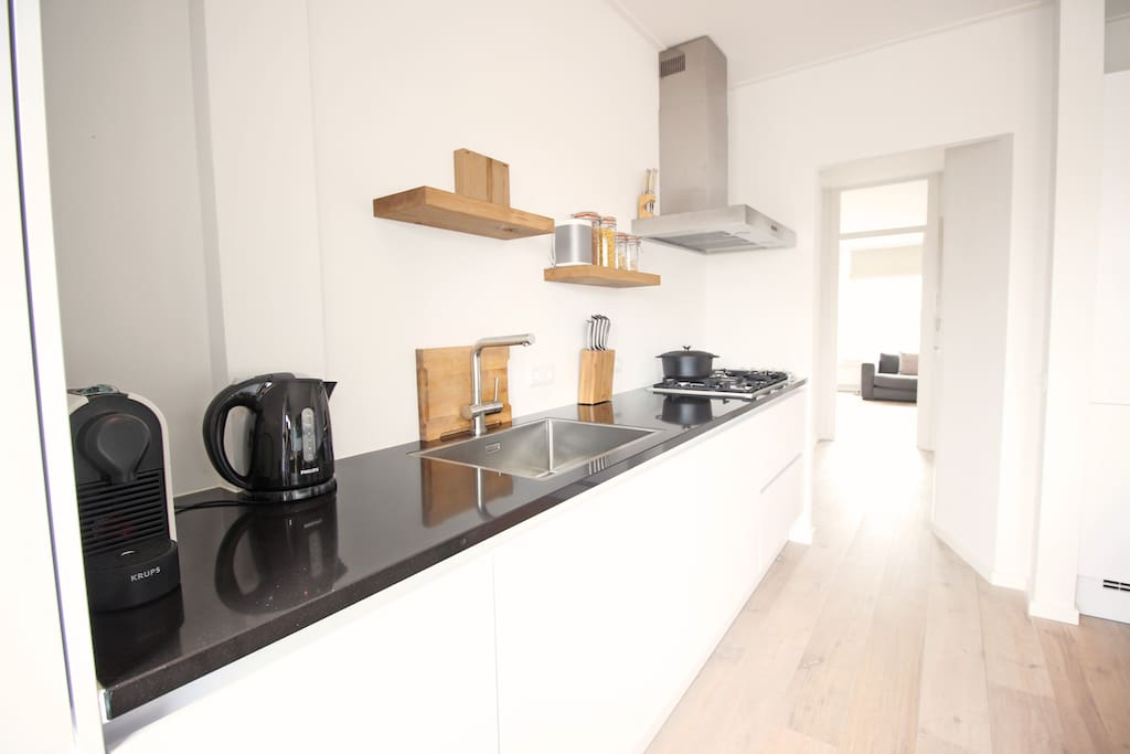 Fully equipped kitchen to cook delicious meals