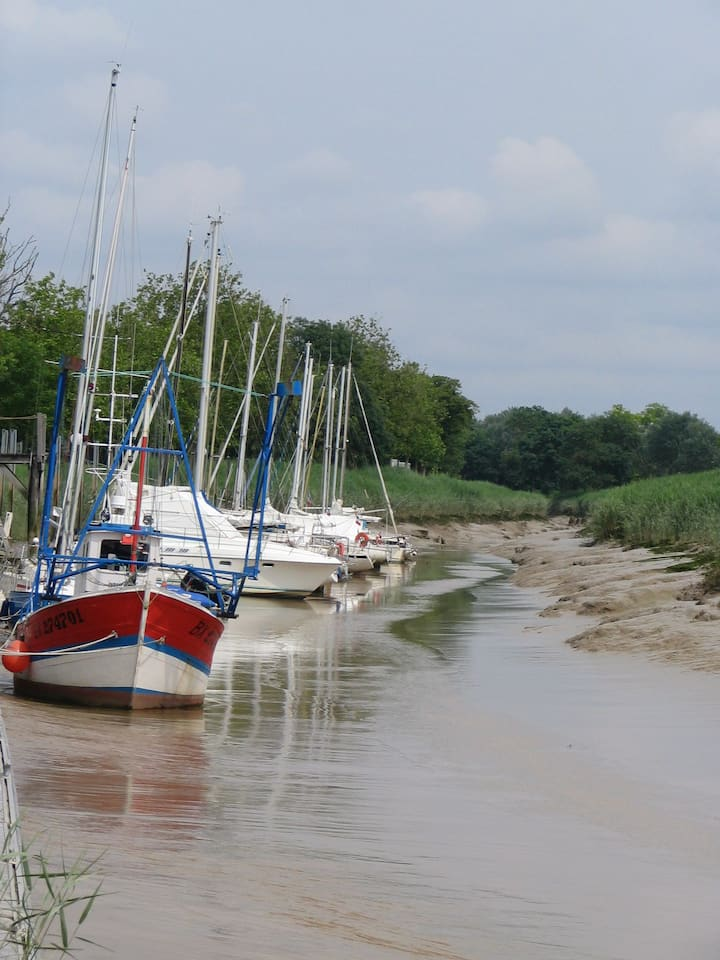 Appartement en bord d'estuaire de Gironde