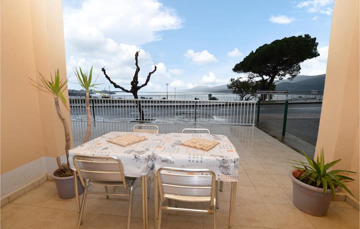 Beautiful apartment in Propriano with WiFi and 1 Bedrooms