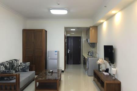 广州长隆-大石地铁站-广州南站 温馨公寓大床房 - Guangzhou - Huis