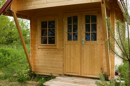 ★ Want Camping WITHOUT The Hassle? Cozy Log Cabin★