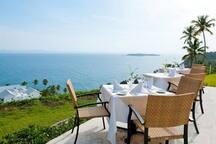 Precioso restaurante al aire libre