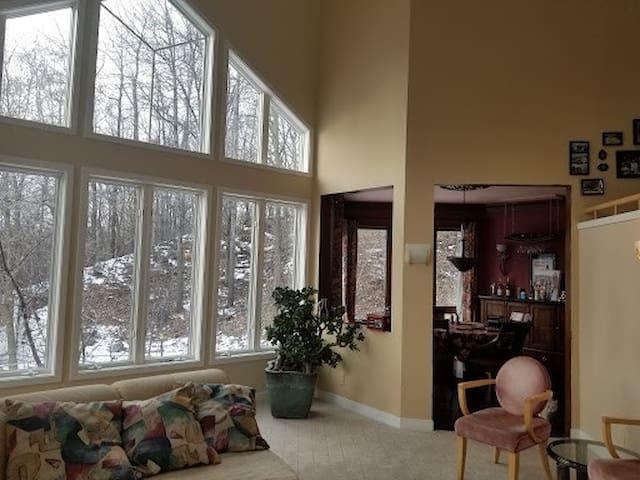 Living Room - Vaulted, Incredible Sunshine