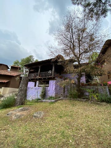 Cabaña para 6 personas cerca del centro de Tapalpa