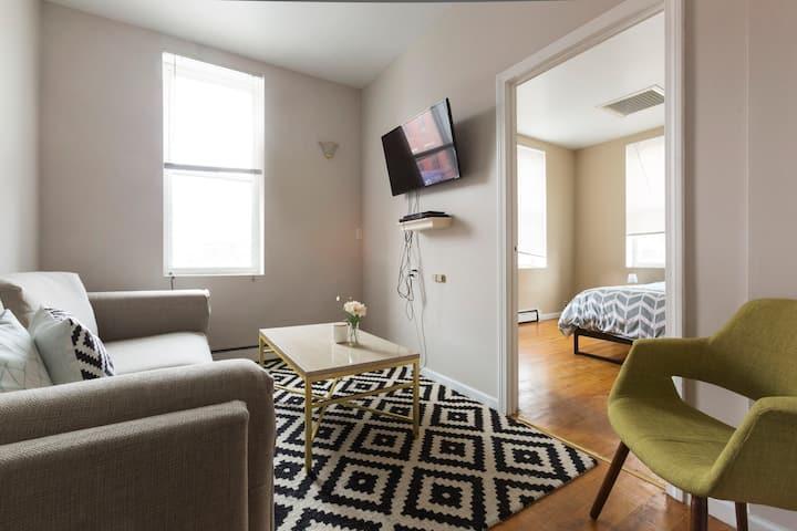 Spacious Comtemporary 3BR Apartment