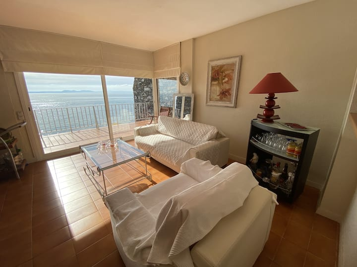 DALLAS 1 C Nice apartment on Seafront with fantastic sea view