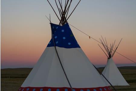 Large Blackfoot Tipi