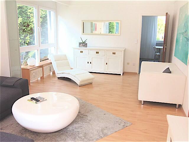 Schöne Wohnung + Terrasse/Garten für 1-4 (5) Pers.