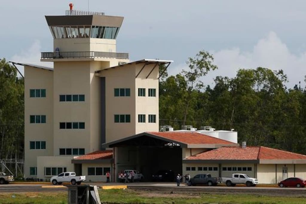 Cerca del aeropuerto de Rio Hato