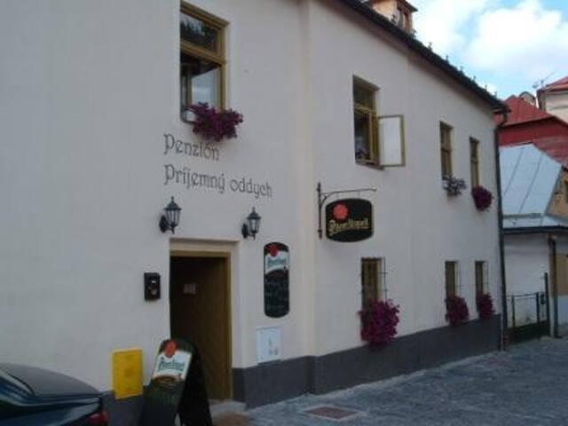 Ubytovanie v útulnom penzióne - Banská Štiavnica - ที่พักพร้อมอาหารเช้า