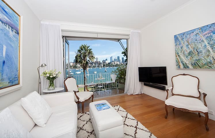 Water Front with City Views - Darling Point - Byt