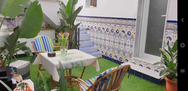 Casa Amelia Estudio con terraza -Bed&breakfast