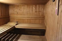 Sauna at the first floor