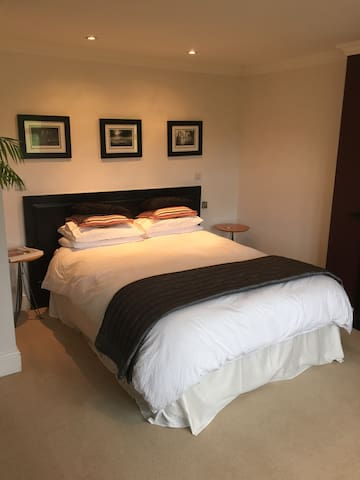 Large Double room. Bathroom. Lounge - Newbury - Huis