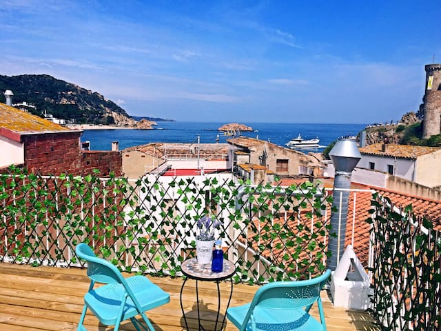 Tossa Apartment-100m from Beach & 50m to Castle-3F