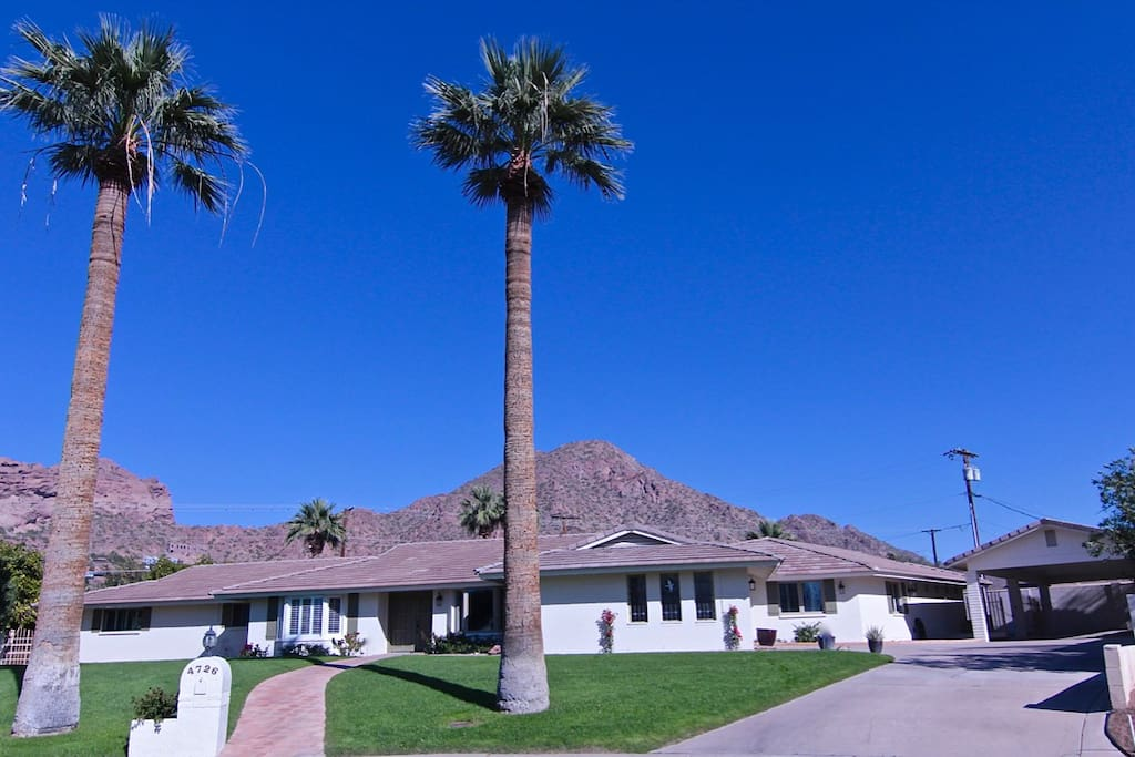 Located on a cul-de-sac with Camelback Mountain views.