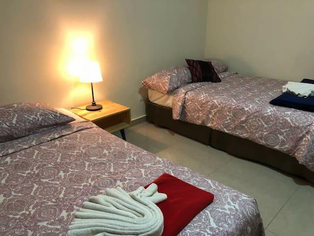 Room 3 -  1 Queen,  1 Super single
