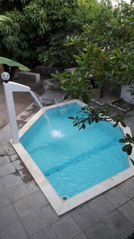 Casa duplex com piscina na Praia do Janga