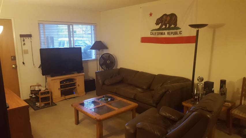 Private room in apartment 5 min to UC Davis - Davis - Apartamento