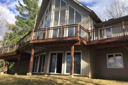 Lakefront Luxury Cottage Retreat - Harcourt - Kulübe
