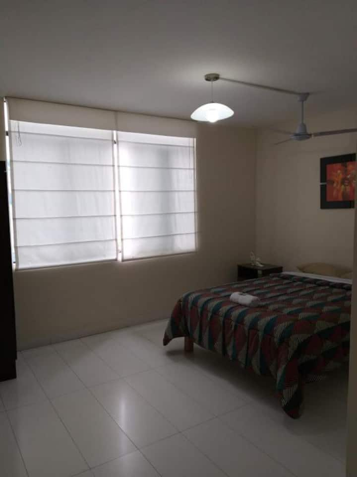 Double Bed Private Room w/Bathroom Miraflores 302