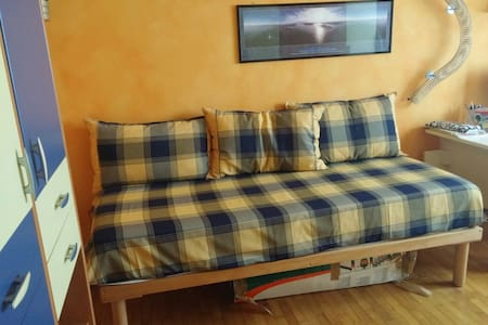Bedroom Brixia North (2h to EXPO) - Bovezzo