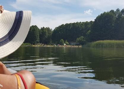 Direkt am Grimnitzsee Strandurlaub machen!