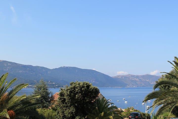Duplex bord de mer Tiuccia (Corse) - Casaglione - Wohnung